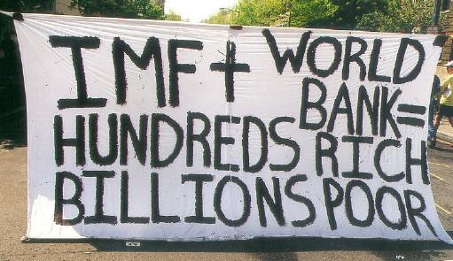Улога ММФ-а у креирању криза је све јаснија људима широм света